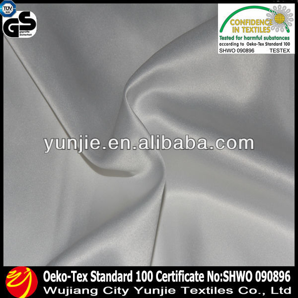 100%polyester 2way spandex satin