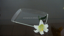 hotel / restaurant acrylic serving tray / plexiglass tray