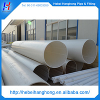 DN300 1.6MPA pvc plastic pipe, pvc pipe prices, pvc water pipe prices