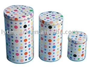 lovely decorative gift tin box sets tin packaging