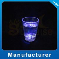 plastic drinking glass with led