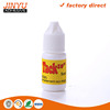 Jinyu factory price wholesale strong adhesive high viscosity quick dry plastic bottle 5ml super glue for shoes