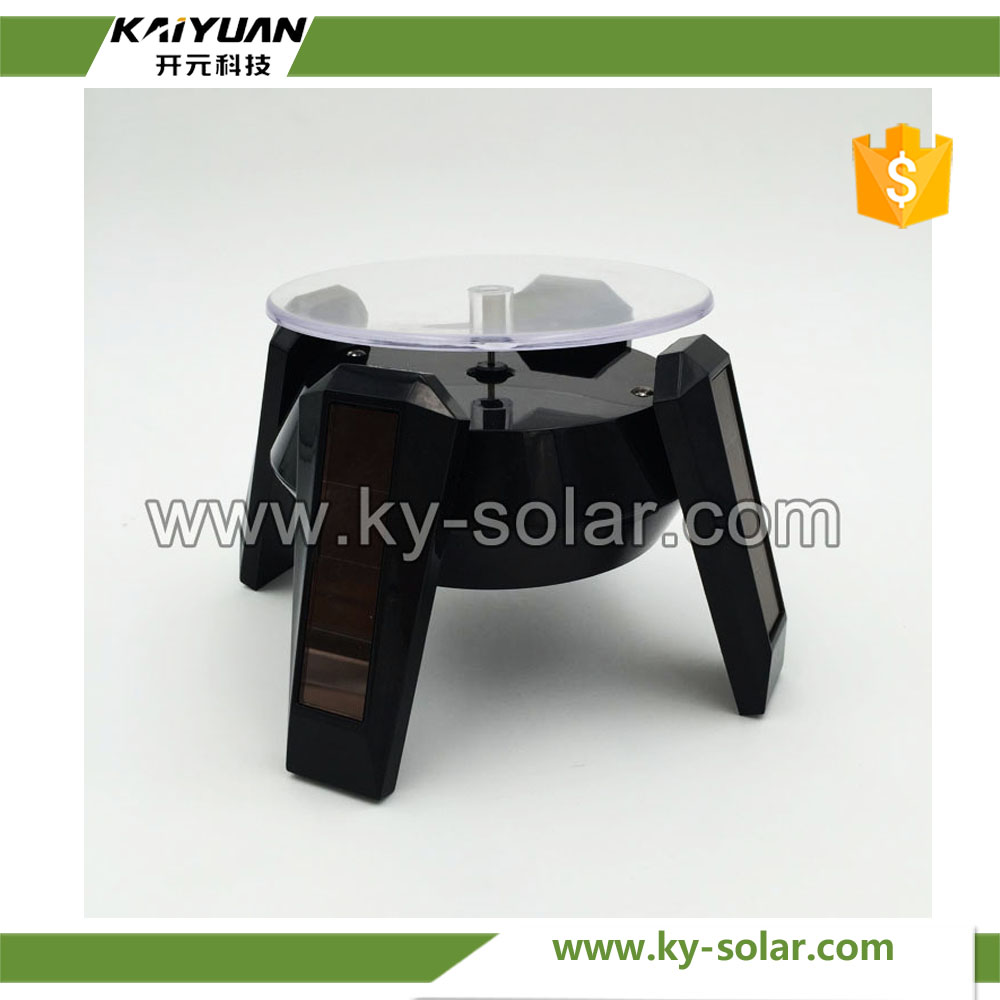 New Design 360 Degree Solar Spinner Display Rotating Solar Turntable