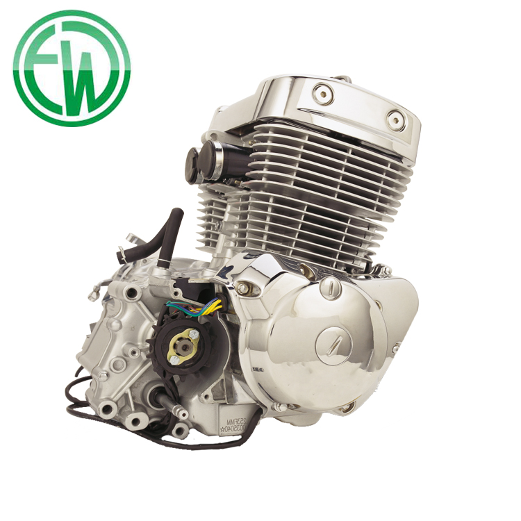 High Quality Best Price 4 Stroke 2 Cylinder 250cc Motorcycle Engine