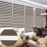 2015 Fashion Zebra Blinds Fabric/Quality Blinds and Shutters