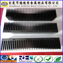 black anodized aluminum heatsink