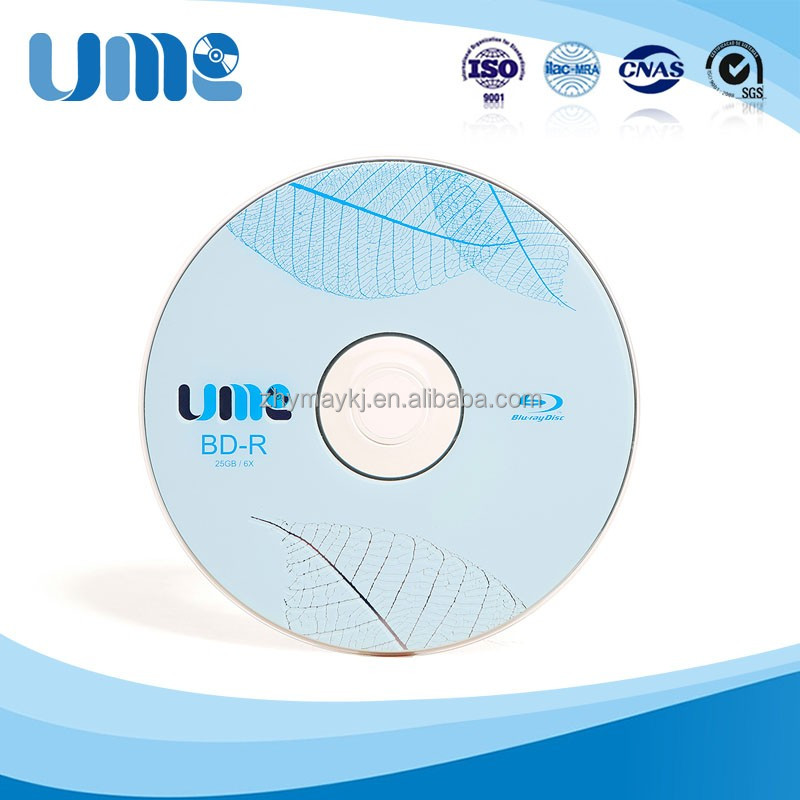 China cheap wholesale super quality UME 25GB Printable BD-R