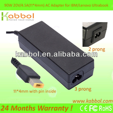 90W 20V 4.5A AC Adapter Lenovo ThinkPad X1 Carbon 0B46994 Slim tip