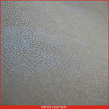 yangbuck pu synthetic leather, pu artifical leather for shoes, imitation of velveteen backing 100% pu shoe upper leather