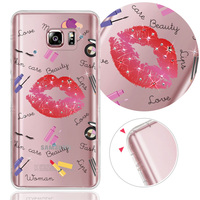 For Samsung Note5 Best selling Crystal Crashworthiness soft case