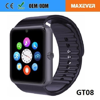 OEM Manufacturing MTK6261 Mobile Watch Phones GT08 and DZ09 Smart Watch