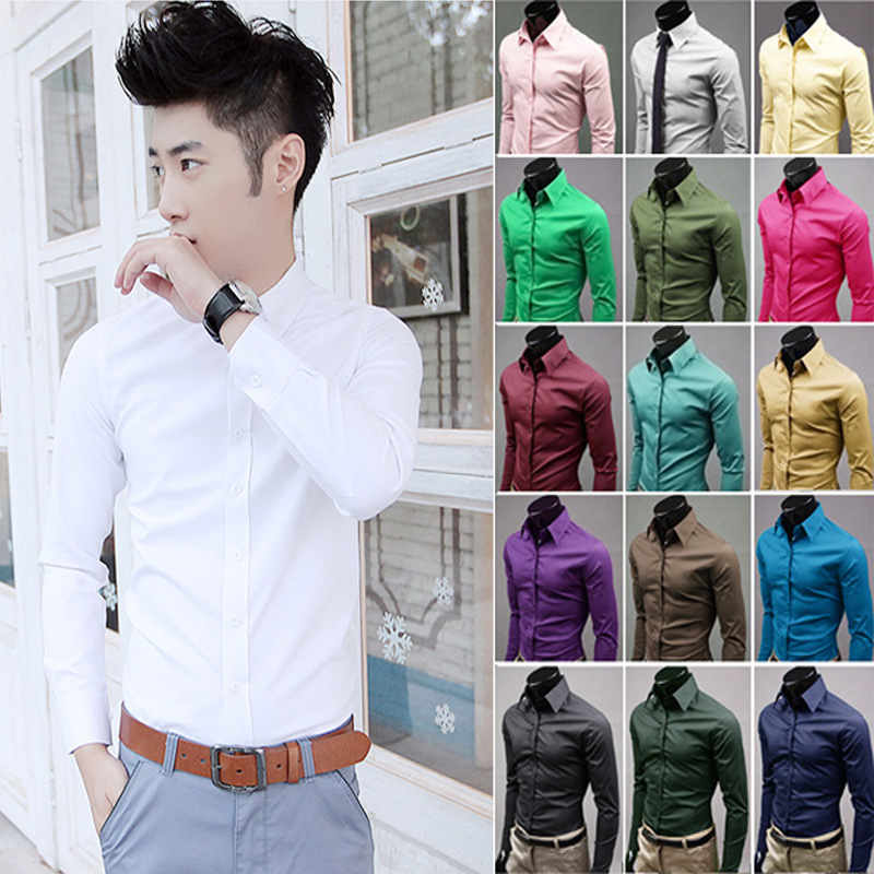 Wholesale high quality long sleeve business T-Shirts for <strong>men</strong>