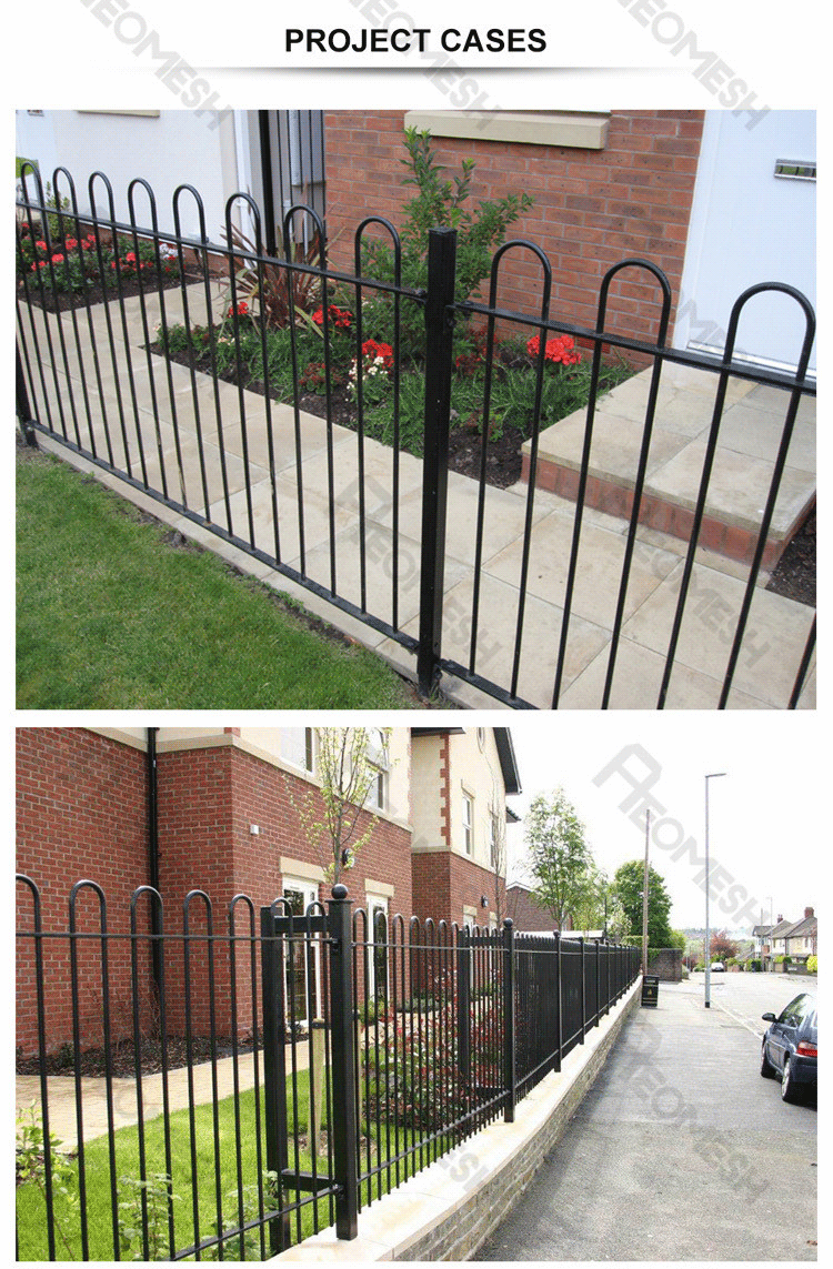 Made in Guangzhou Professional Factory Bow Top Fence