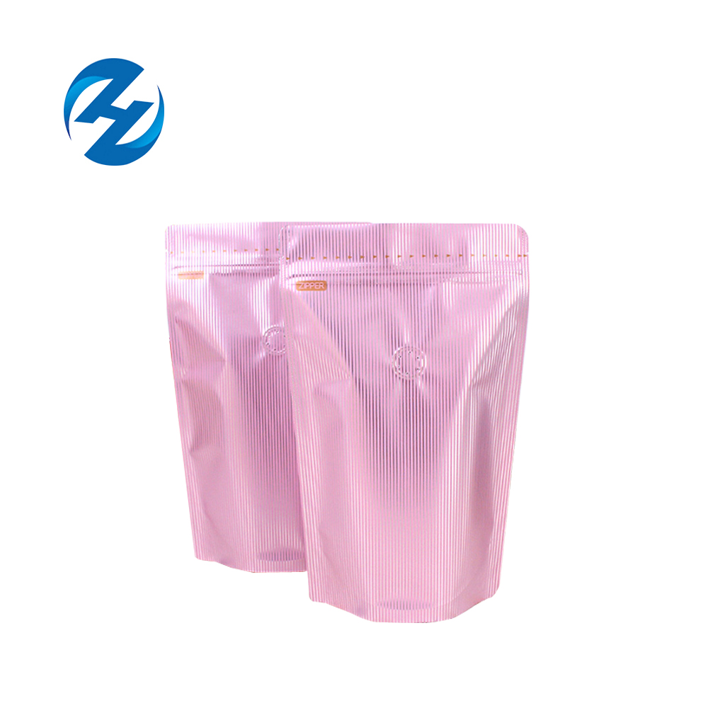 Custom printed zipper plastic stand up packaging bag for nuts dried fruit