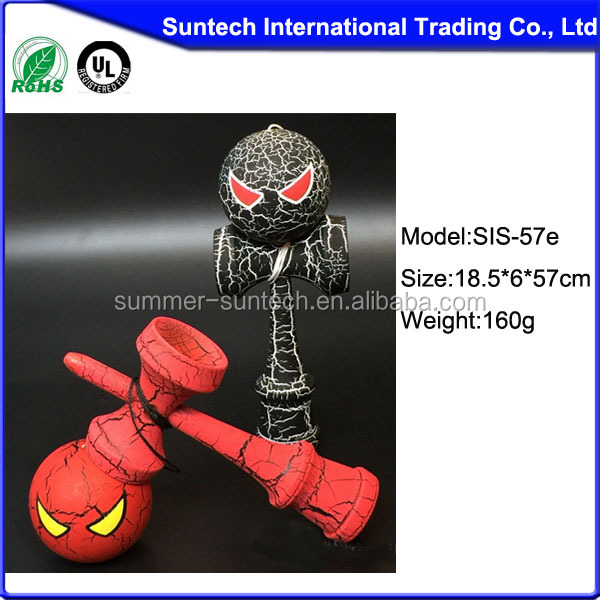 Cool Cat Eyes Kendama Toys For Wholesale Honrui Kendama from China