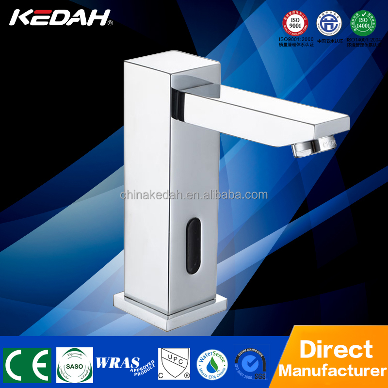Hotel style square shape chrome-plated bathroom faucet KD-157D/AD