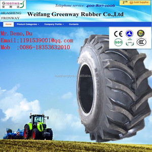Hot sale! China Top quality Agricultural tractor tire manufactory agricultural implement tire 7.50-20