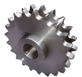 Amerian and European standard industrial stainless steel sprocket manufacture
