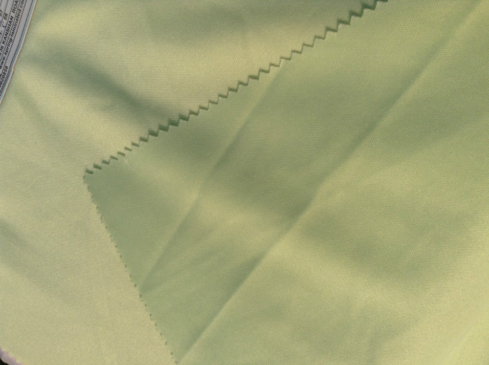 Laminated fabric for 100% poly double jersey fabric