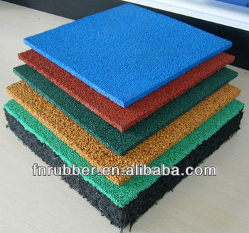 EPDM rubber granule for sports court