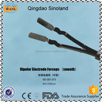 CE approved Reusable laparoscopic bipolar electrode forceps,surgical instruments set