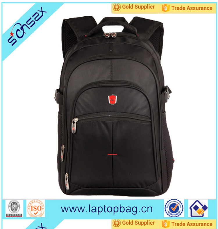 1680D black laptop computer backpack bags for college student