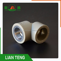 PPR Material 90 degree pipe elbow