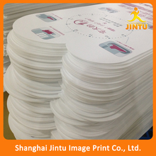 2016 indoor/outdoor advertising PVC board with self adhesive