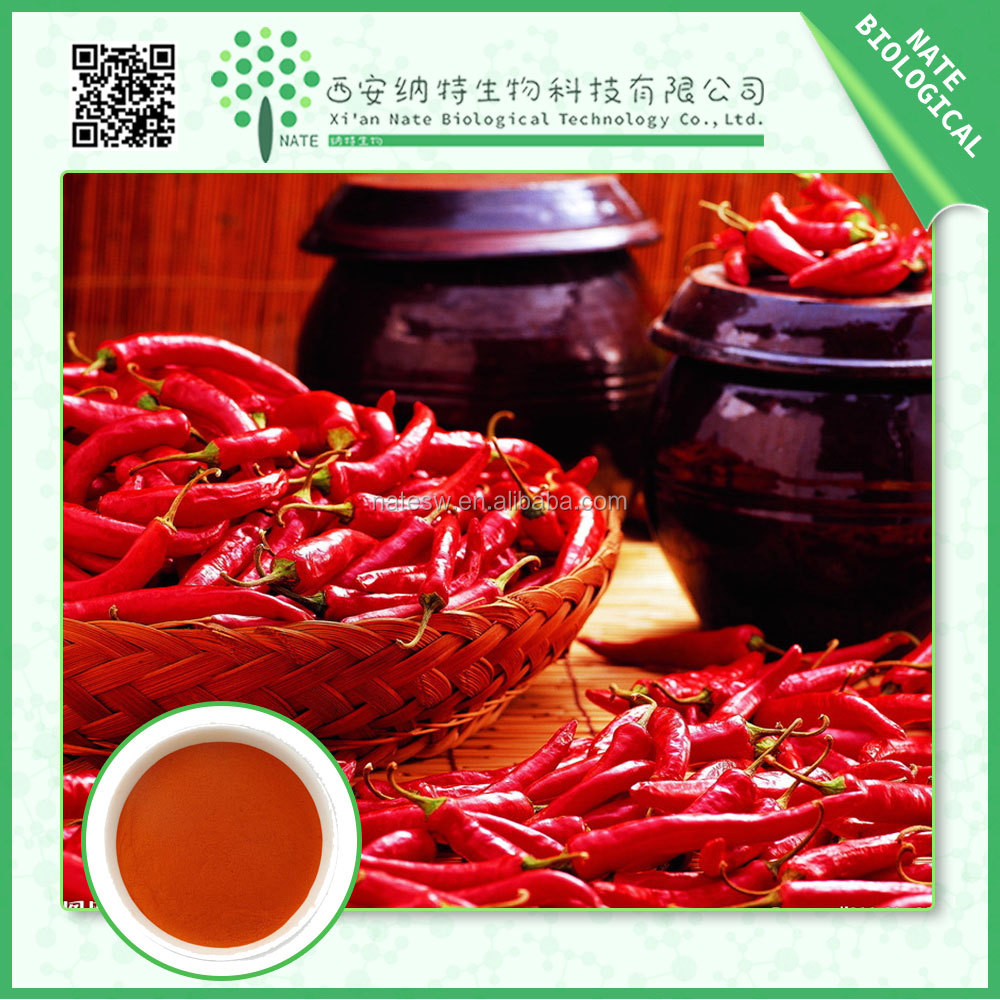 Alibaba China Supplier herbal extract / organic capsicum extract 95%