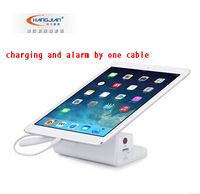 Hot sale in Korea anti theft security cable alarm display stand for tablet