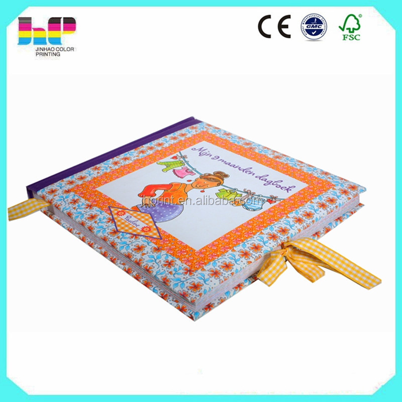 Custom coloring coffee table cloth cover book printing