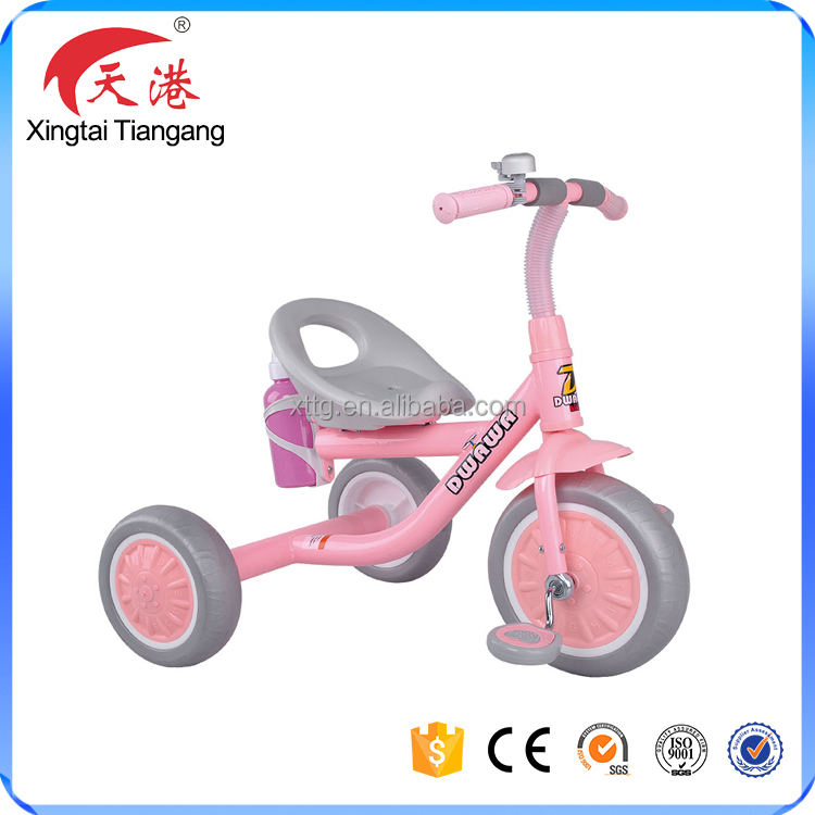2017 rubber foam wheels baby tricycle toys smart trike, kids tricycle wholesale
