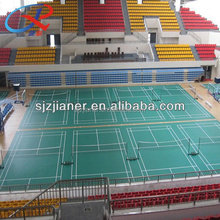 schock absorption 55% In Rolls Badminton PVC Vinyl Floor/basketball floor