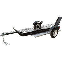 Single-Rail Collapsible Motorcycle Trailer For Sale