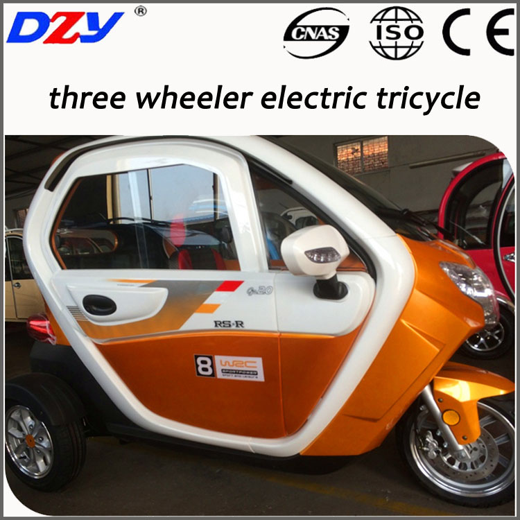 72V1000W 3 wheel electric tricycle for adult with CE certification