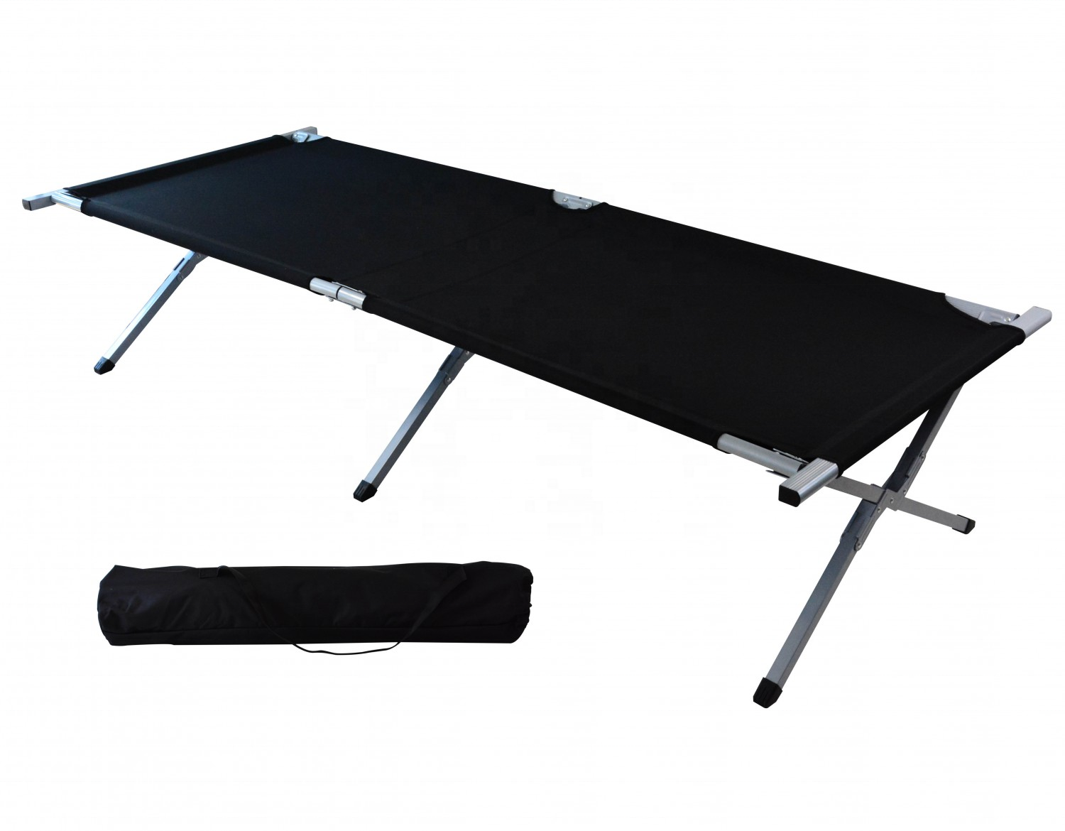 Foldable Military Army Single Metal Outdoor Cot Folding Camping <strong>bed</strong>