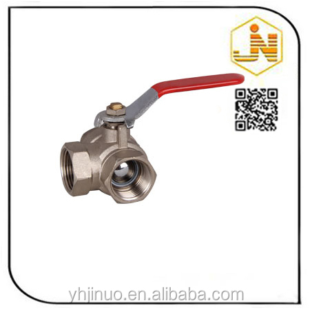 Top Level Hot Sale Four Port Three Way Brass Valve