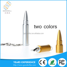 High quality bulk items bullet shape metal usb flash drive for promotional gift