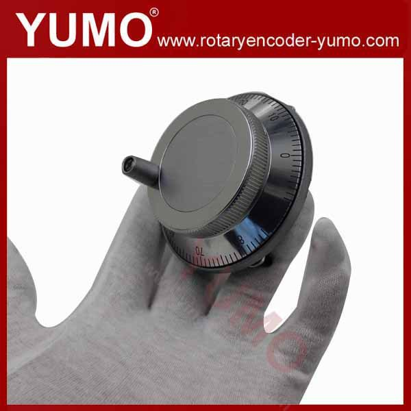 ISM8060 80mm 100 ppr pulse 5V DC Manual Pulse Generator CNC Handwheel MPG Manual Encoder rotary encoder