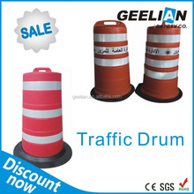 Removable Road Safety Warning Bollard,road barrier,taffic barrel
