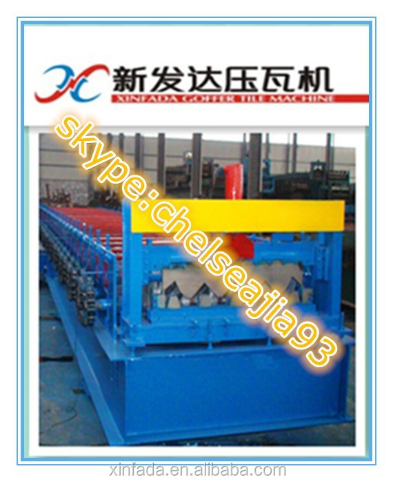 Floor Decking Roll Forming Machine/Steel Structre Roll Forming Machine