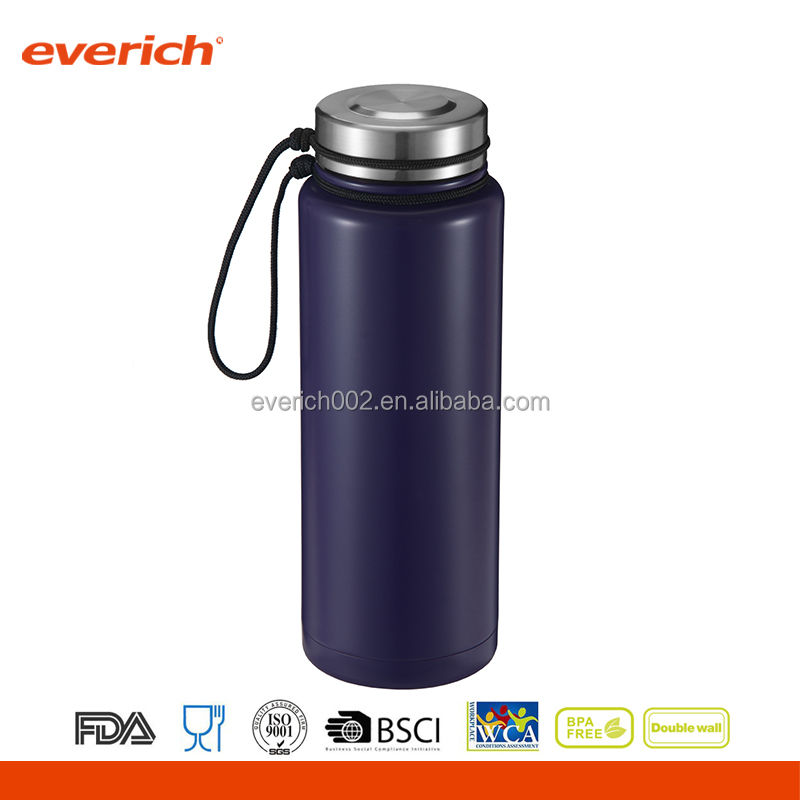 Different Models of double wall vacuum stainless steel water bottle travel