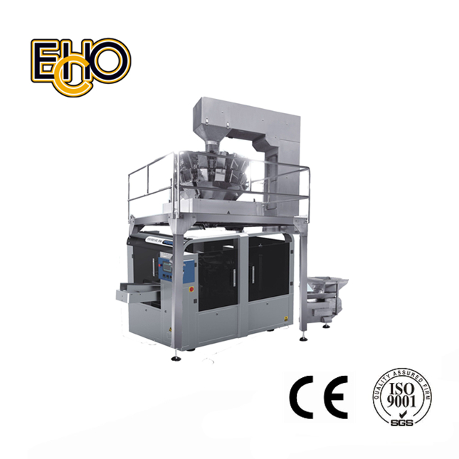 Automatic Solid Measuring And Packaging Production Line for Zip Lock pouch (MR8-200G)