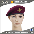 High quality wool military embroidery beret cheap