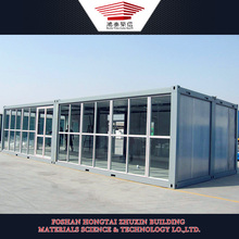 Prefabricated luxury glass offices CONTAINER WORKSHOP