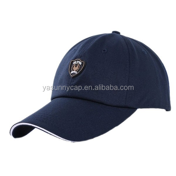 high quality custom polyester baseball hats hot sale