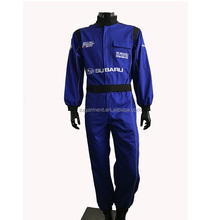 Car racing uniform reflective racing coverall