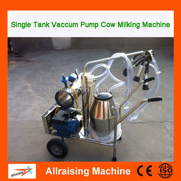 Portable Single Milking Machine Electric 25L Cow Milking Machine With Price