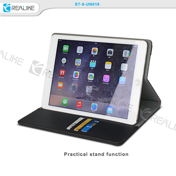 Ultra-thin case with stand function silicone universal tablet case for ipad