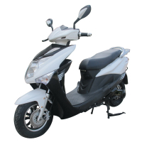 60V 30AH Lithium Battery Motorbike With Electric Wheel Motor